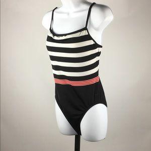 Jantzen Women's One Piece Striped Swimsuit